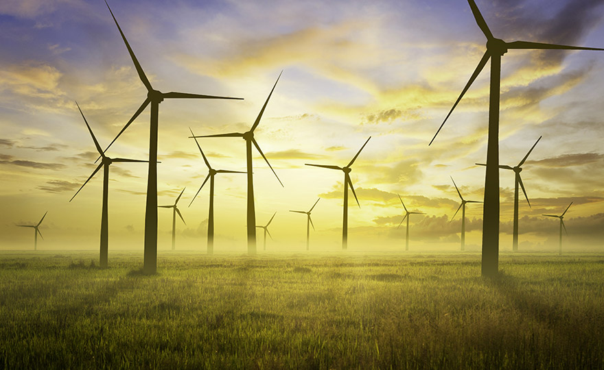energy oil and gas solar and wind