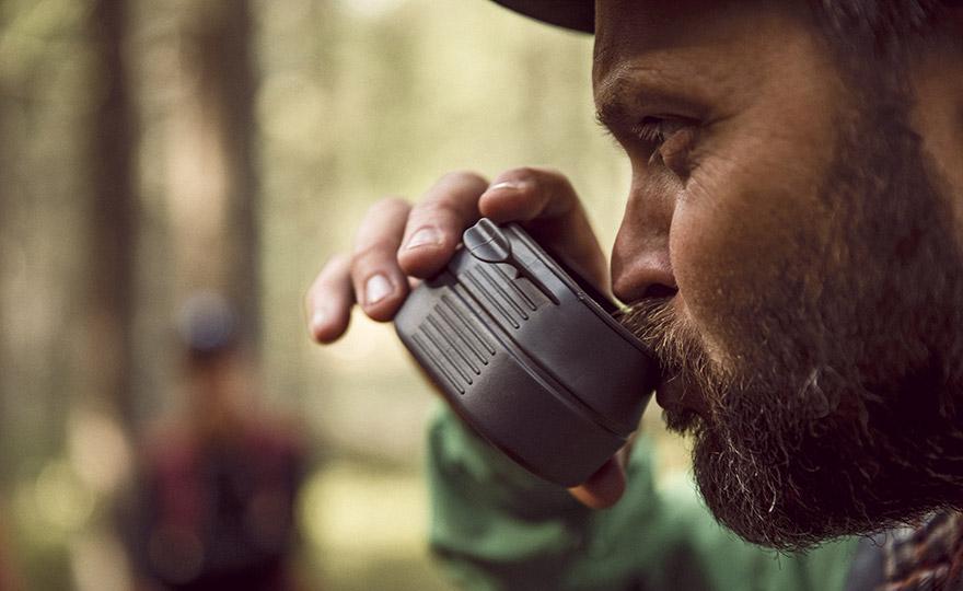 Wildo-Pokal aus Dryflex Green TPE