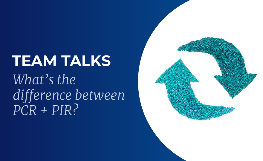 What's the difference between PCR + PIR?