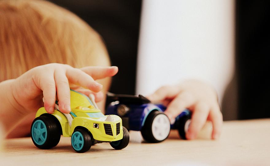 Weiche Materialien für Spielzeug
