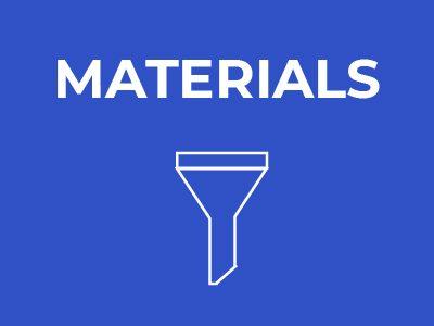Sustainability Journey - Materials