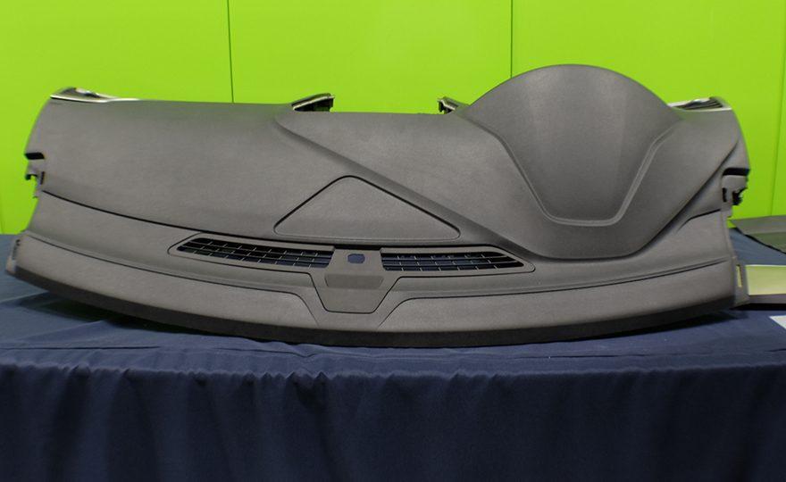 Instrument panel skin, based on the Kraton IMSS™ technology